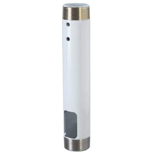"""Chief Manufacturing CMS012W Fixed Extension Pipe 12""""White CMS012W"""