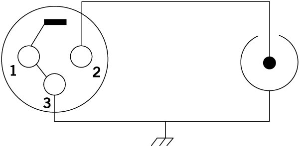 XLR Female to RCA Male Adapter