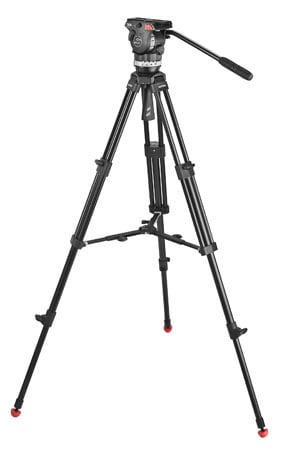 Tripod System for Smaller Cameras with Mid-Level Spreader