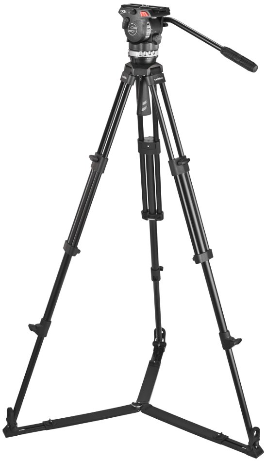 Tripod System for Smaller Cameras with SP75 Ground-Level Spreader
