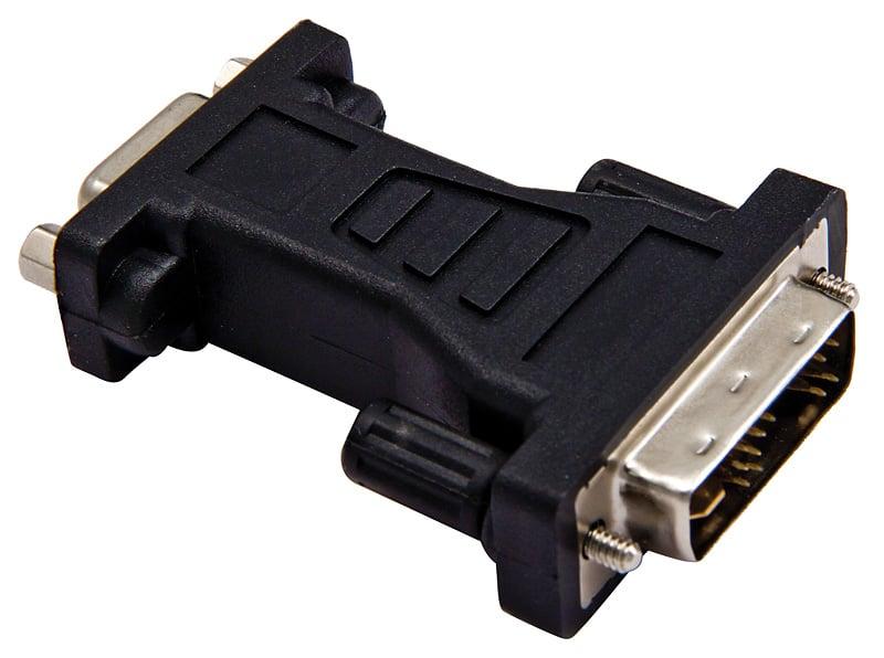 15-Pin D-Sub to DVI-I Adapter
