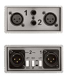 Line Isolator Dual Line Balanced XLR