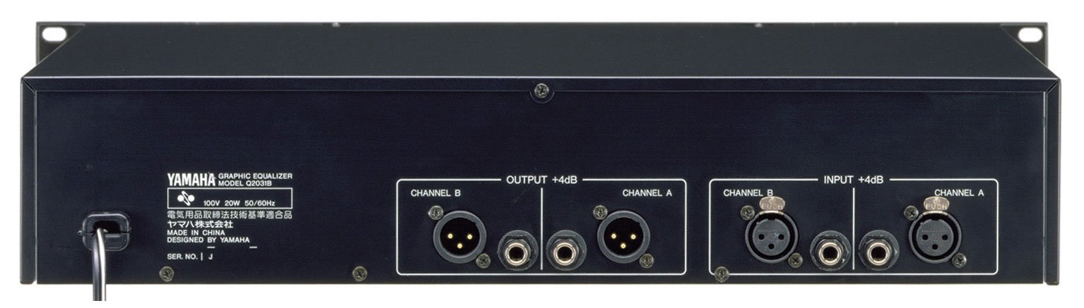 Dual Graphic Equalizer, 1/3 Octave