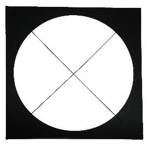 """Color Frame, 10 1/2"""" x 10 1/2"""", Black"""