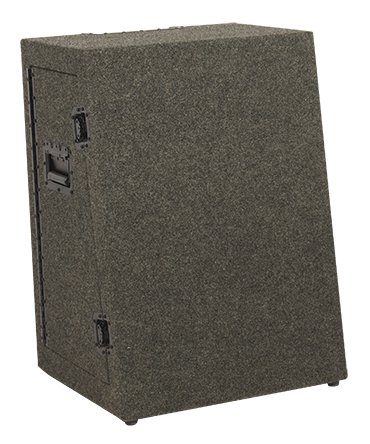 Acclaim Series Portable Lectern Base and Transport Case in Gray