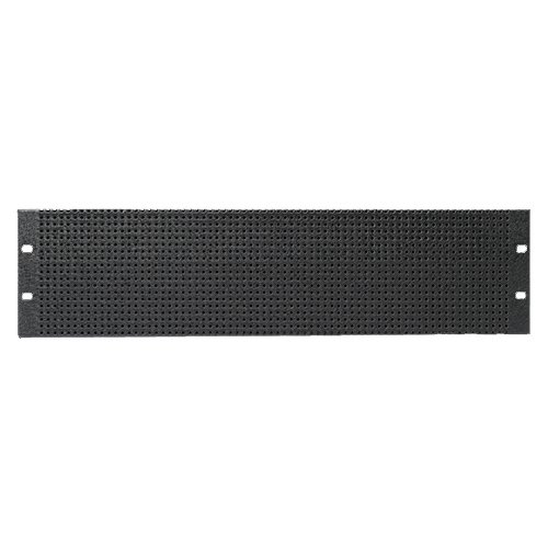 "Recessed Vented Rack Panel, 19"" 6RU"