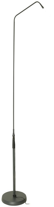 6-9 ft Wired Gooseneck Microphone Module / Floor Stand with 15 lb Base for DAM Series Capsules
