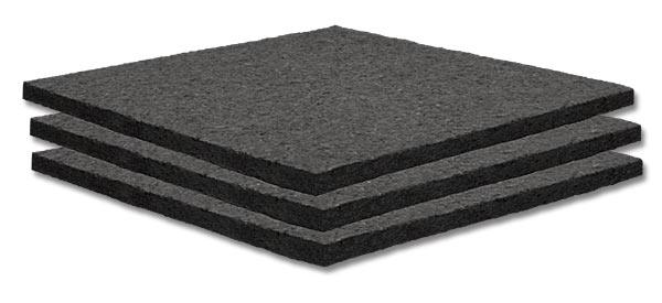 "Panel, Acoustic,  2' x 2' x 1"", White, 24 Tiles"