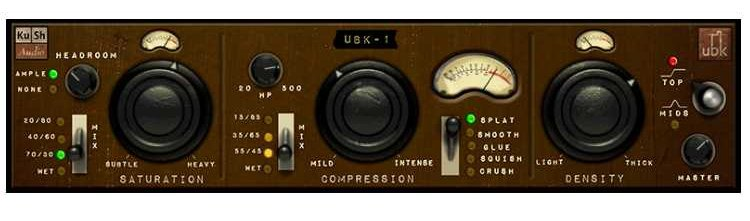 Kush Audio UBK-1 Software Plugin, Compressor, 3-Stage UBK-1