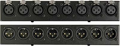 XLR Female/XLR Male Module for PB25 Patch Bay