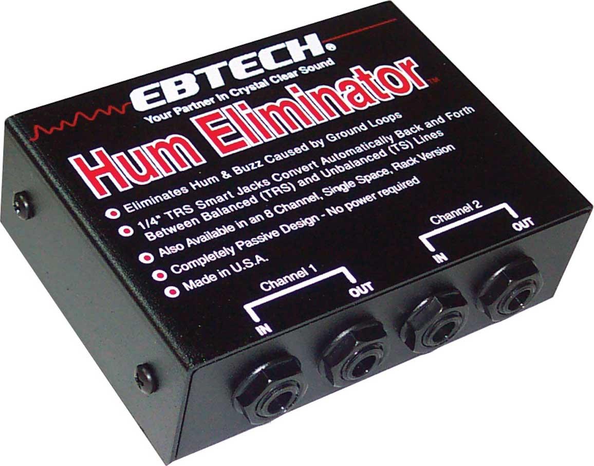 2 Channel Hum Eliminator