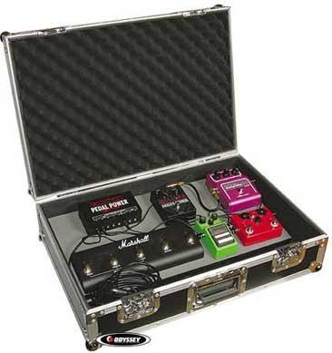 """24"""" Guitar Pedalboard/Case"""