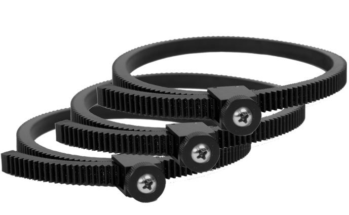 Lens Zip Gears, 3 Pack