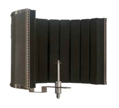 Stand Mounted Acoustic Shield