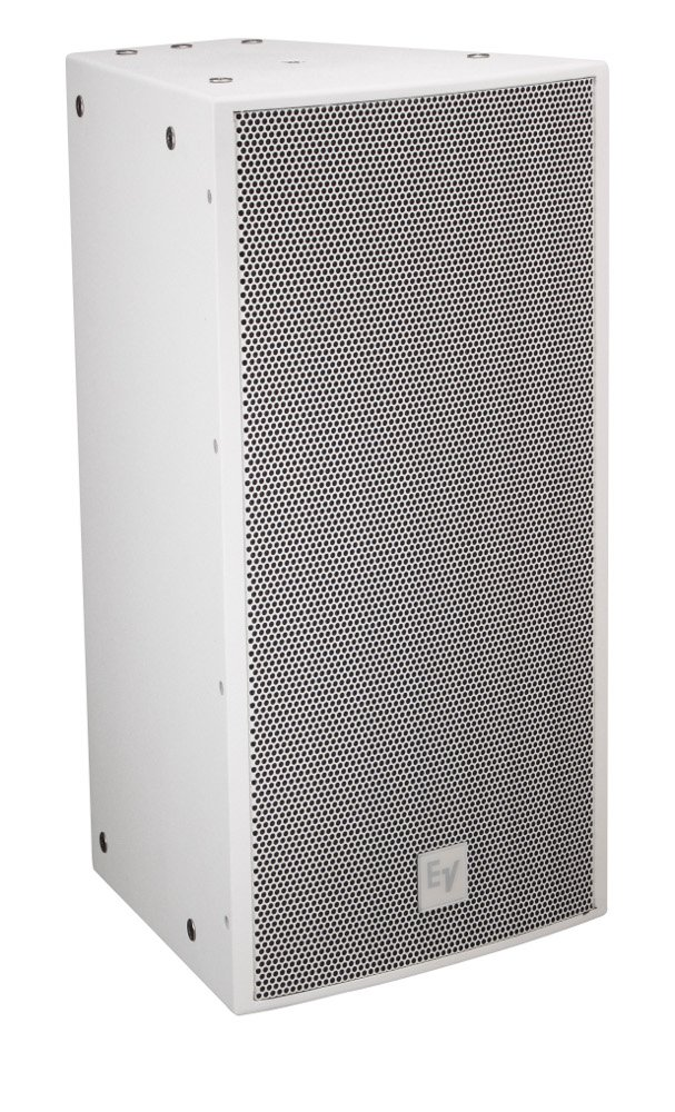 "12"" 2-Way Full Range Speaker with 90 x 40 Dispersion in White"
