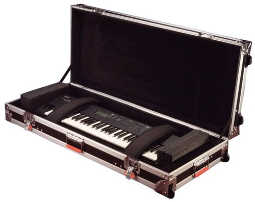 Hardshell ATA 88-Key Keyboard Flight Case