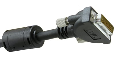 Molded DVI-D Single Link Cable, 3ft