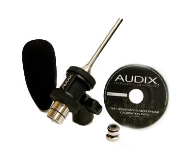 Mic Kit with Calibration CD, Mount and Windscreen