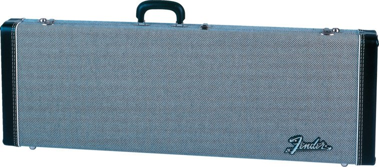 Deluxe Hardshell Black Tweed Electric Guitar Case for Stratocaster®/Telecaster® Guitars