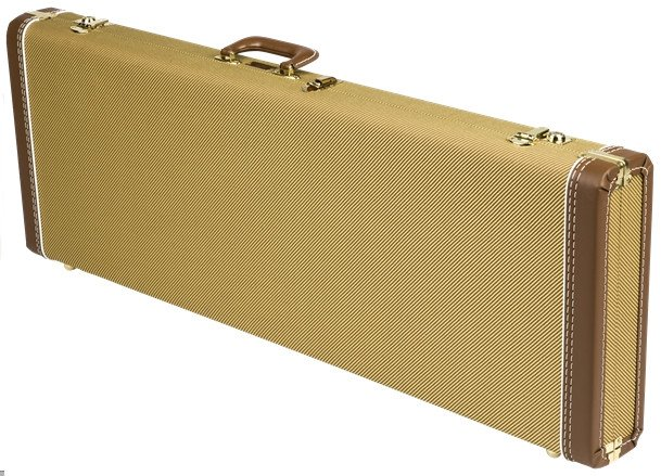 Fender 099-6103-400 Tweed Multi-Fit Hardshell Case for Stratocaster®/Telecaster® Electric Guitars 099-6103-400