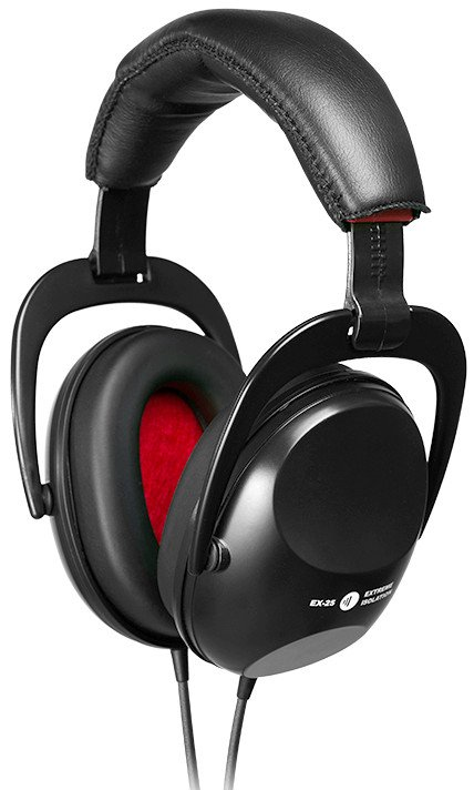 Extreme Isolation Headphones in Black with -25 dB Passive Isolation