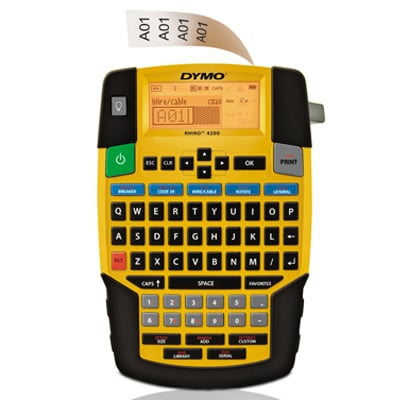 Dymo Corporation 1801611 Label Printer, Rhino 4200 1801611