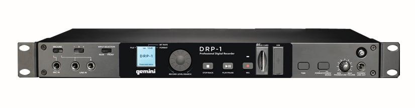Rackmount Mono and Stereo Digital Recorder