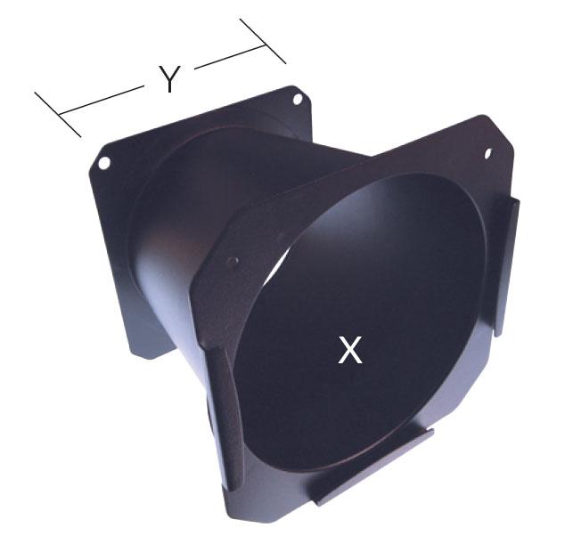 Conical Gel Extender for Source Four Lights, Black