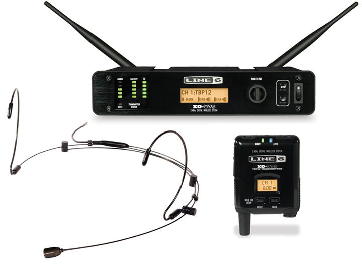 Digital Wireless Headset Microphone System