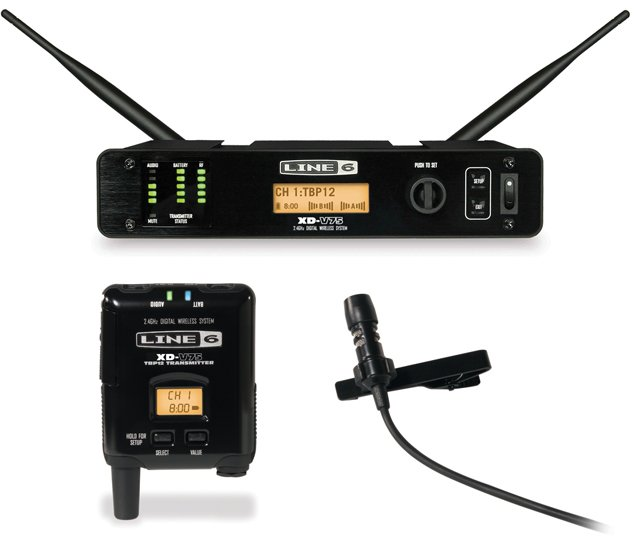 Line 6 XD-V75L Digital Wireless Lavalier Microphone System XD-V75L