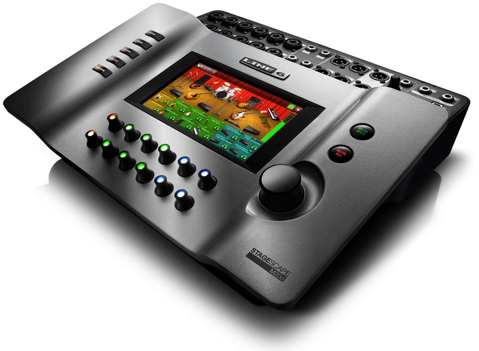 20-Input Live Sound Digital Mixer