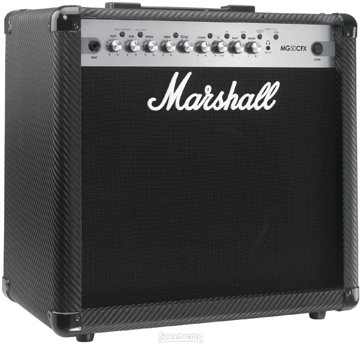 "Marshall Amplification MG50CFX-U 50W Guitar Amplifier, 1x12"" MG50CFX-U"