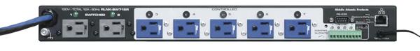 Middle Atlantic Products RLNK-SW715R 15A Rack Mount Power Switch RLNK-SW715R