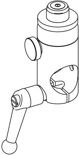 Spacebar Adjustable Microphone Holder