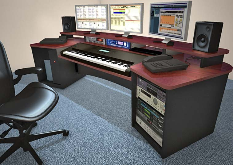 Force Keyboard Mahogany Composing Workstation