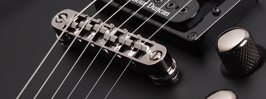 BlackJack SLS Satin Black Electric Guitar
