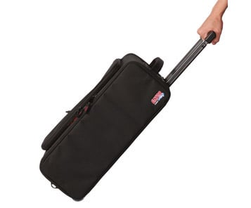 2U Lightweight Rack Bag w/handle and wheels