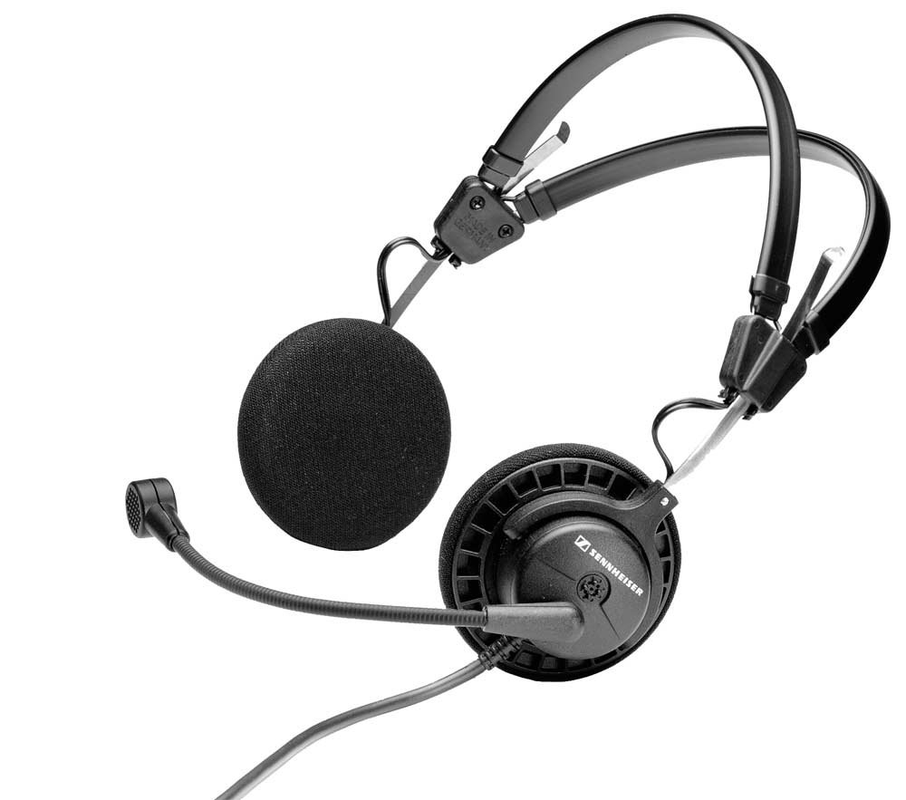 Lightweight Dynamic Open Headphones with Microphone and Active Guard