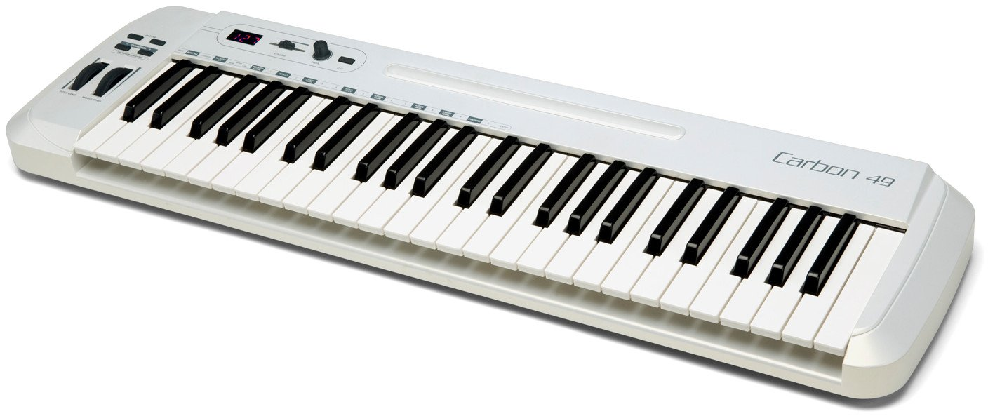 Samson Carbon 49 49 Note Keyboard Controller with Komplete Elements CARBON-49