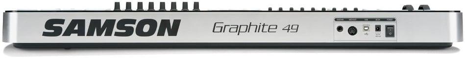 Samson Graphite 49 49 Note USB MIDI Controller Keyboard with Komplete Elements GRAPHITE-49