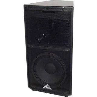 2 Way Loudspeaker, White/6 2x2 Fly Points