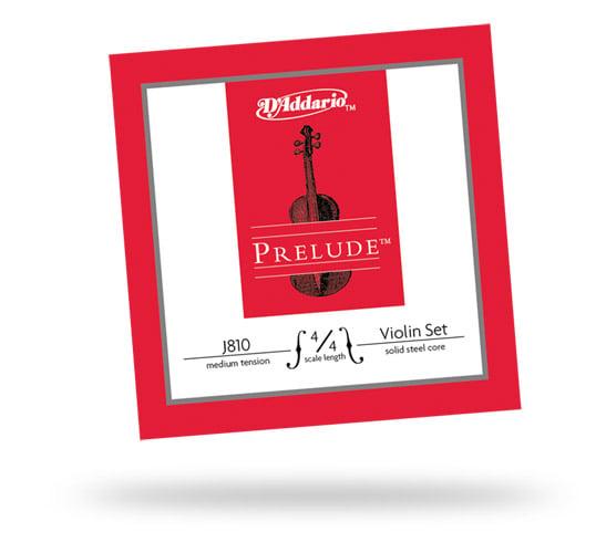 Prelude 4/4  Solid Steel Core Medium Tension Violin Strings