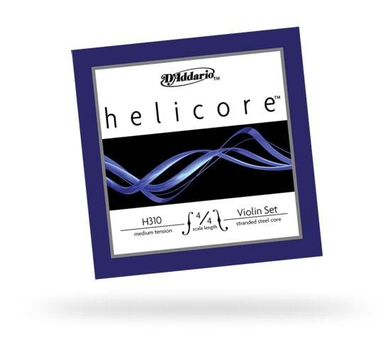 Helicore 4/4 Stranded Steel Core Medium Tension Violin Strings