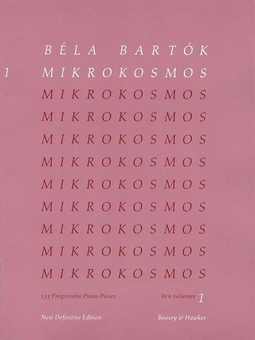 Hal Leonard 48011048 Teaching Piano Music, Classic, Mikrokosmos Vol.1 48011048