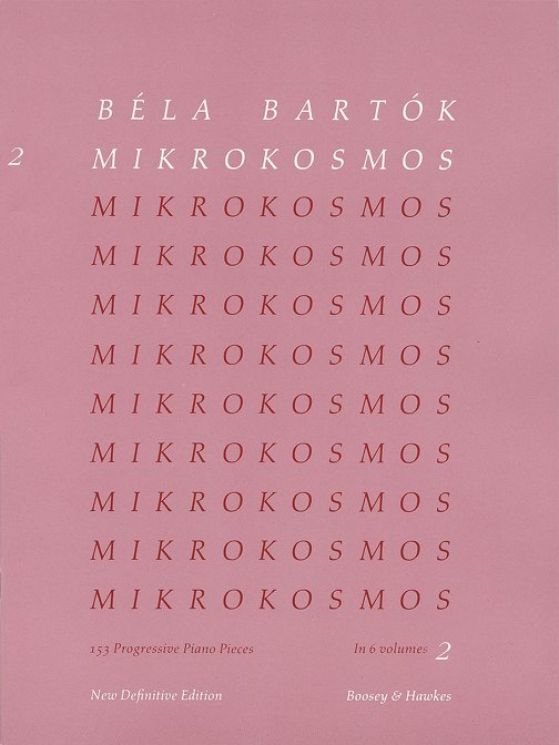 Teaching Classical Piano Music, Mikrokosmos Vol.2