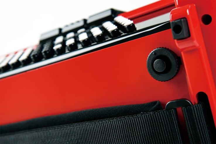 Roland FR1XB V-Accordion Button-Type Diatonic Digital Accordion in Black with Speaker FR1XB-BK