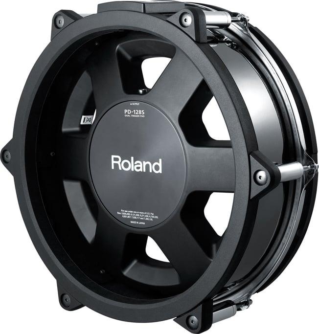 "Black Chrome 12"" V-Pad Snare for TD30KV V-Drums Kit"