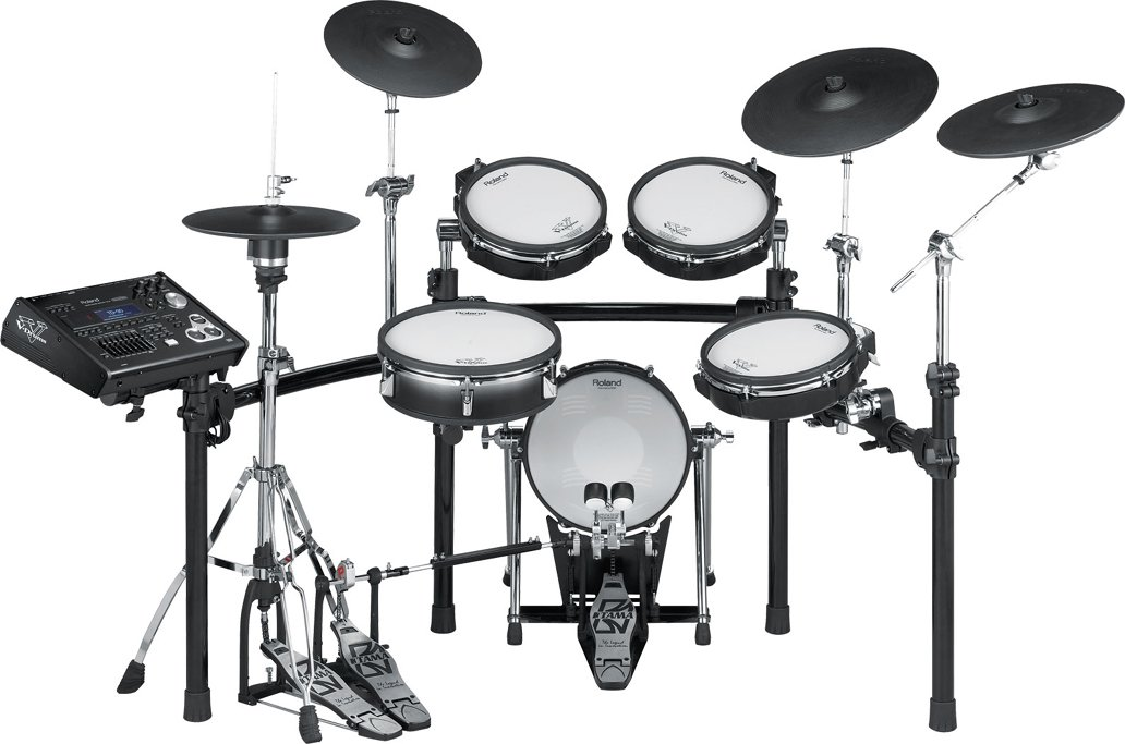 V-Drums® V-Pro Series Electronic Drum Kit with Rack/Stand