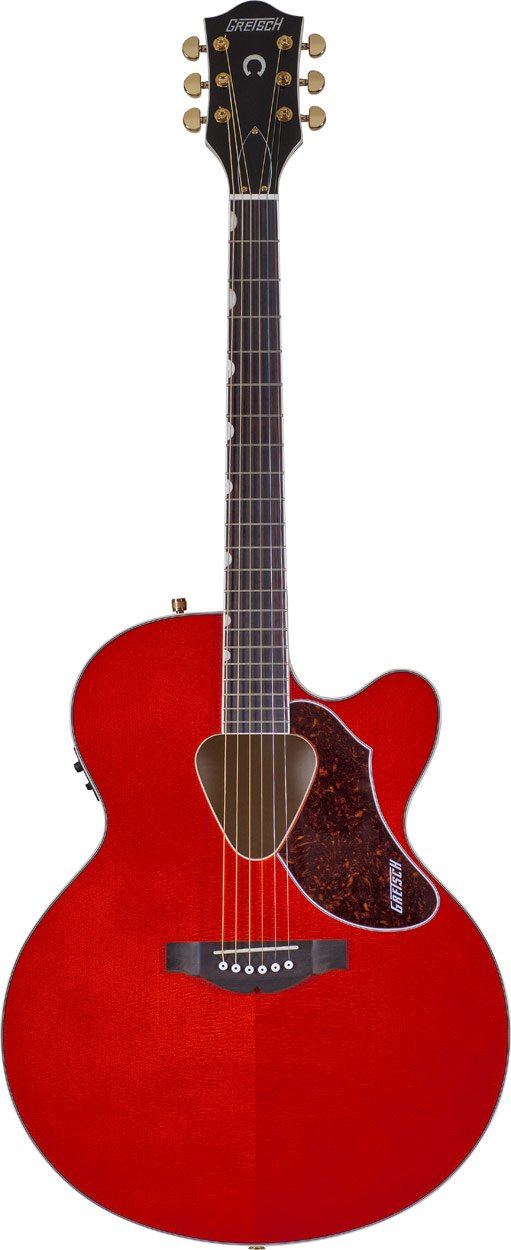 Gretsch Guitars G5022CE Rancher Jumbo Cutaway Electric Savannah Sunset Jumbo Cutaway Acoustic/Electric Guitar G5022CE