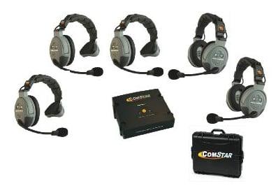5 Person Wireless Intercom System